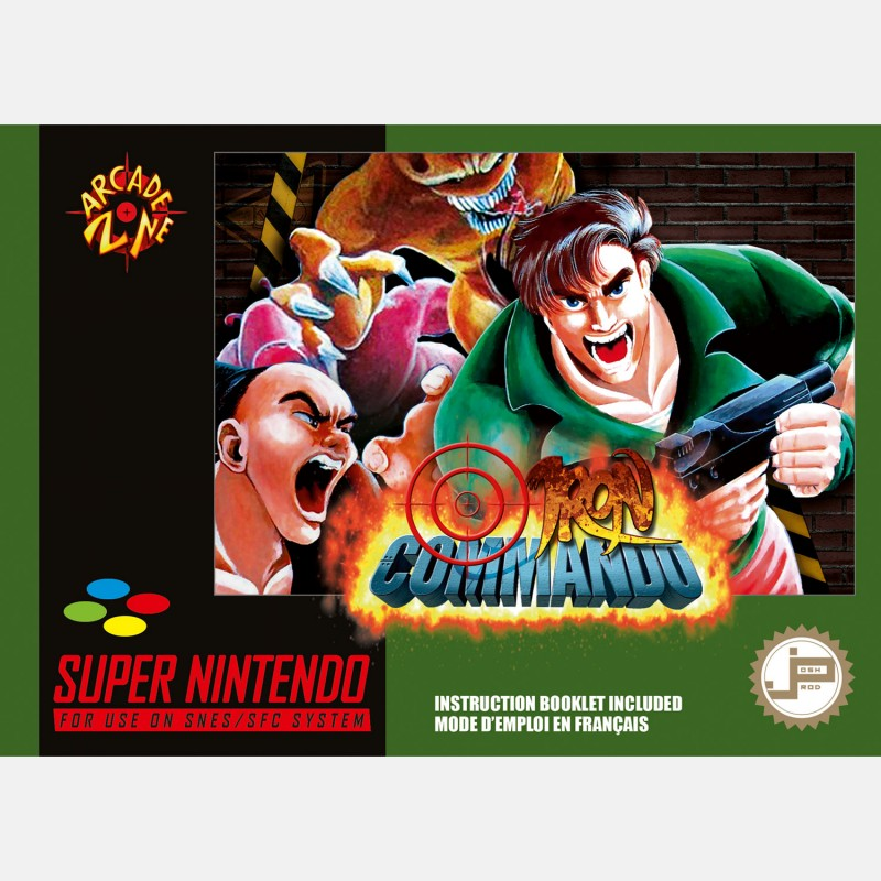 Iron Commando SNES [PAL] - PixelHeart